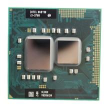 Intel core I3 370M 3M Cache 2.4 GHz Dual Core Socket G1 Laptop Notebook Cpu Processor Free Shipping