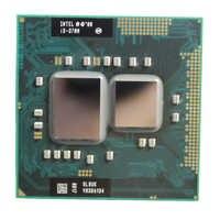 Intel core I3 370M 3M Cache 2.4 GHz Dual Core Soquete G1 Notebook Laptop Processador Cpu Frete Grátis