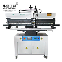 Automatic SMT PCB Solder Paste Silk Screen Stencil Printers For LED Production