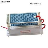 Kbxstart Portable Air Purifier Ozone Generator Ozonizer Odor Eliminator Sterilization For Household Car 220V 5g/10g 12V 10g