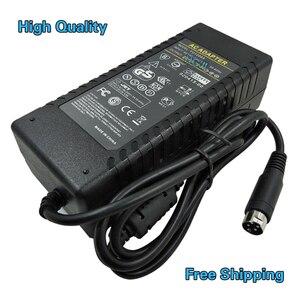Image 4 - TV LCD Power Adaptor DC12v 5a 12v 6a 12v 8a 24v 2a 24v 3a 24v 5a 4pin adapter VCR Adapter 24V3A four pin switching power supply