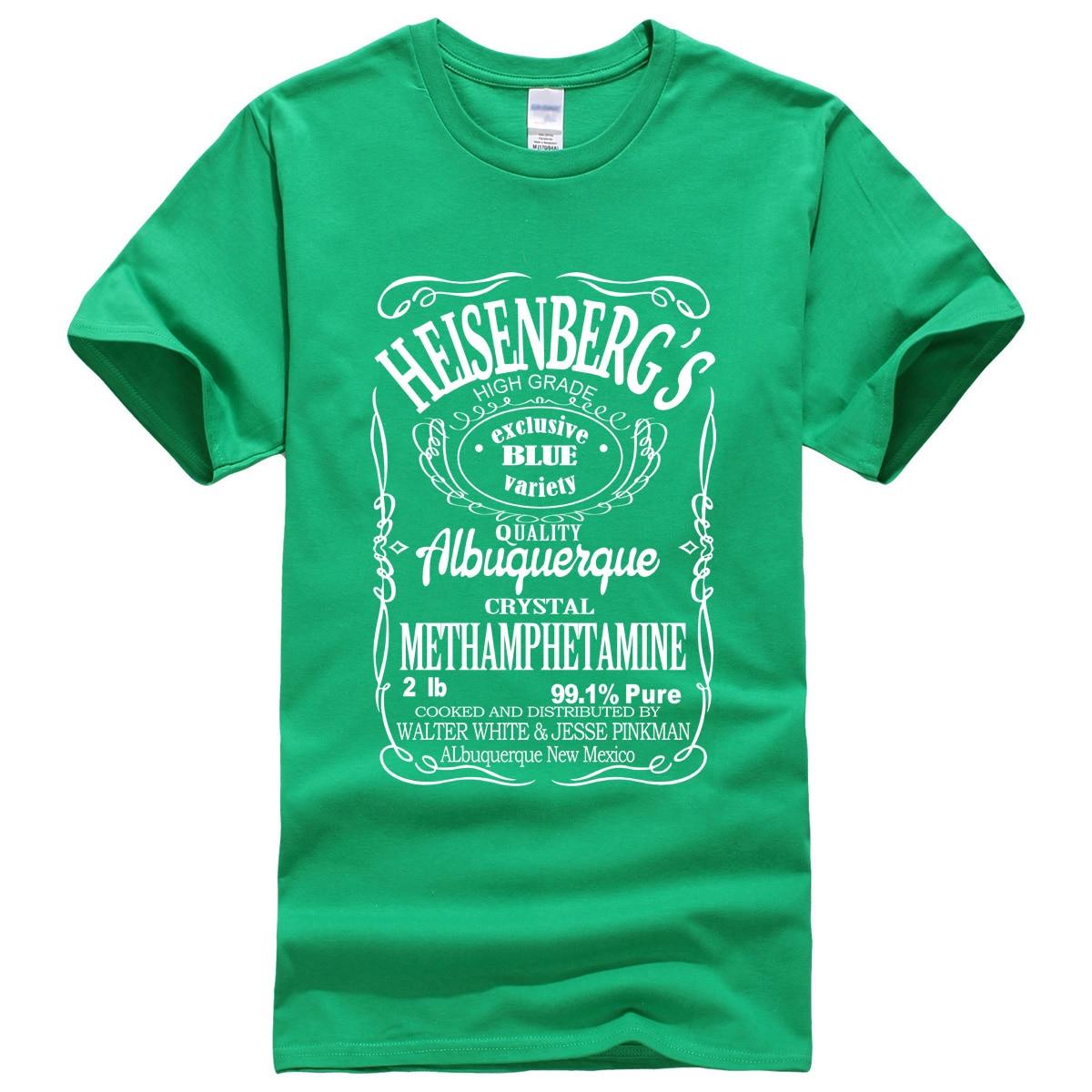 Men's T-Shirt Summer 19 Print BREAKING BAD HEISENBERG