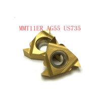חותך חוט mmt11er ag55 CNC חותך חוט MMT11ER AG55 VP15TF / UE6020 / US735 כלי קרביד מחרטה כלי 55 (3)