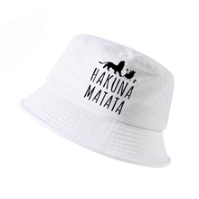 new k pop fashion HAKUNA MATATA hat Men women bucket outdoor hunting panama fishing cap