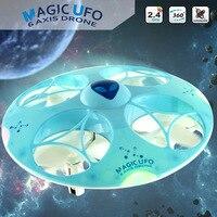 RC Helicopter Drone777-376 2.4G 4CH RC Quadcopter Bezgłowy Tryb 6 Oś 3D toczenia Zdalnego Sterowania Zabawki Magia UFO VS CX-31