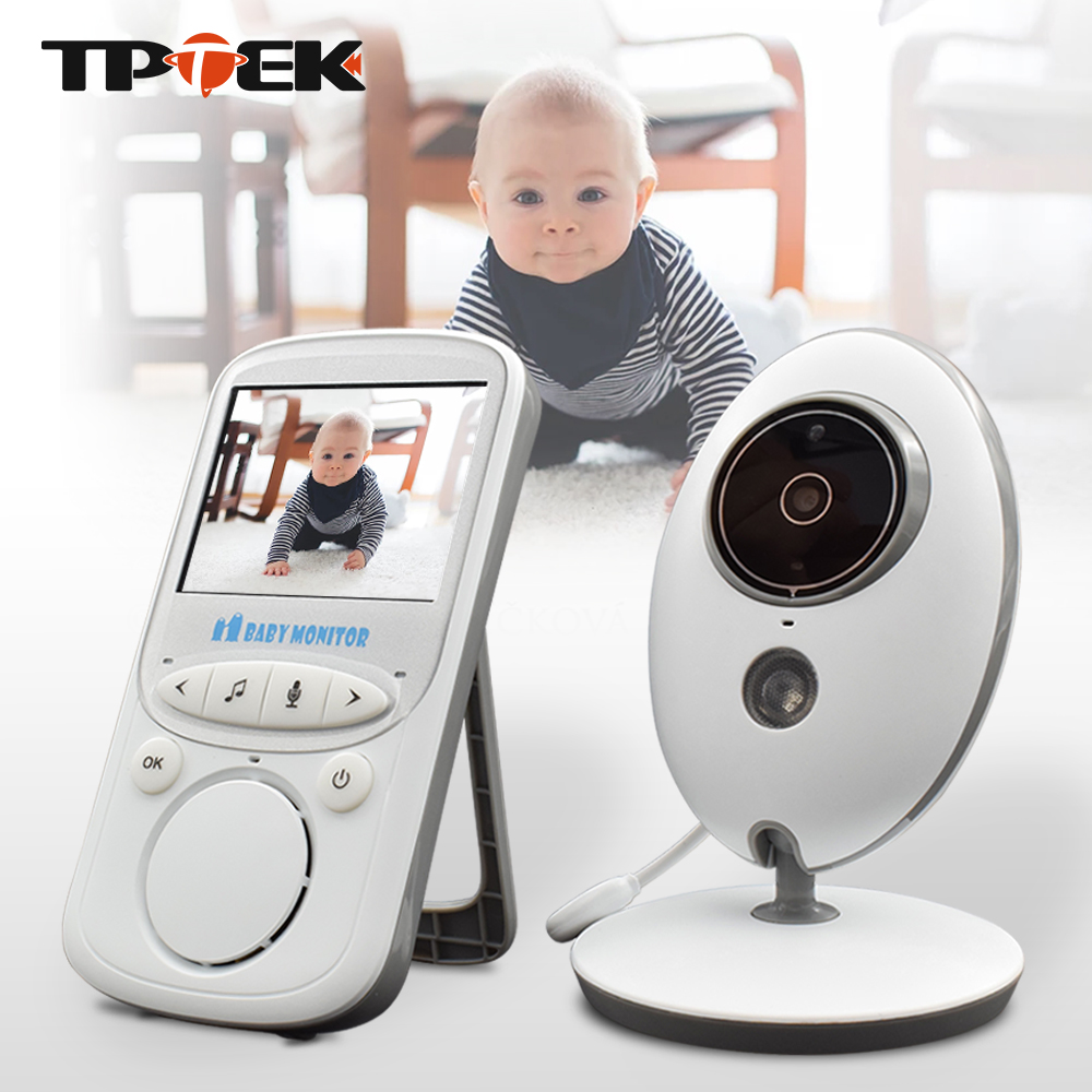 Baby Monitor Wireless 2 4 inch VB605 Audio Video Portable Intercom Baby Camera Baba Electronic Nanny
