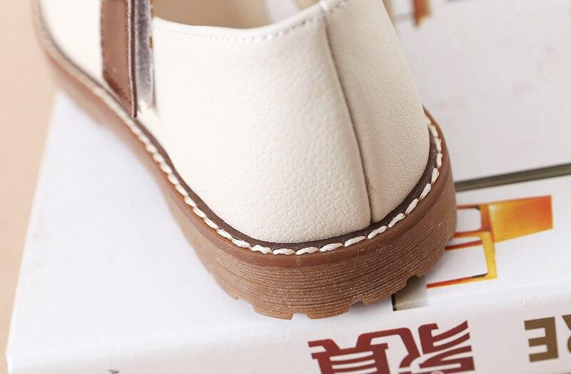 das Meninas Sapatos de Fivela Decoração Crianças