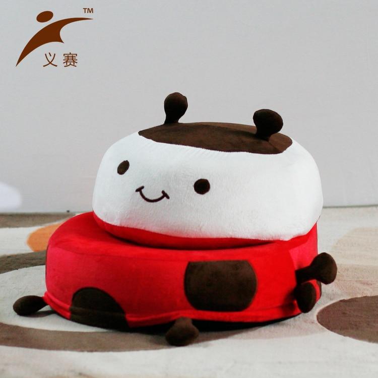 EASY 0121N portable children cute cartoon folding chairs tatami Fabric sof