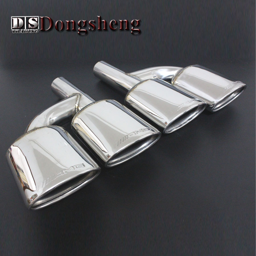 New products For Mercedes Benz C Series E Series W212 AMG four out of the tail throat H section электромобиль mercedes benz sls amg белый