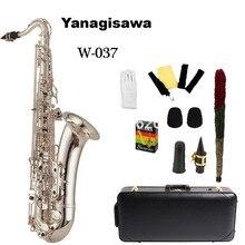 Envío rápido Japonés 2016 musical plateado saxofón YANAGISAWA Yanagisawa nueva W037 promoción limitada