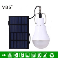 High Light Energy Conservation Useful LED Solar Energy Lamp Natural White Led Bulb Light Solar Panel