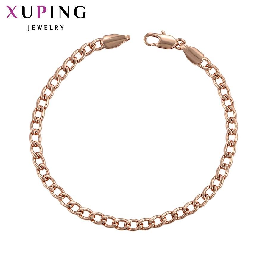 11,11 сделок Xuping Мода розовое золото Цвет покрытием Популярные Дизайн B украшения подарок на день матери S91.6-75427