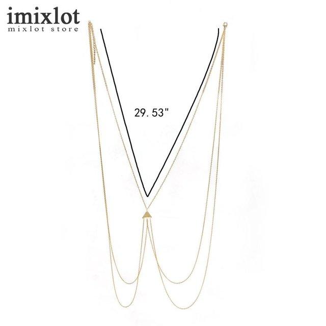 Body Jewelry Chain Triangle True Wisdom