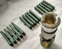 Промышленный инструмент для хонингования Шлифовальная головка абразивные инструменты двойной точильный камень тофон (60 мм 90 мм)
