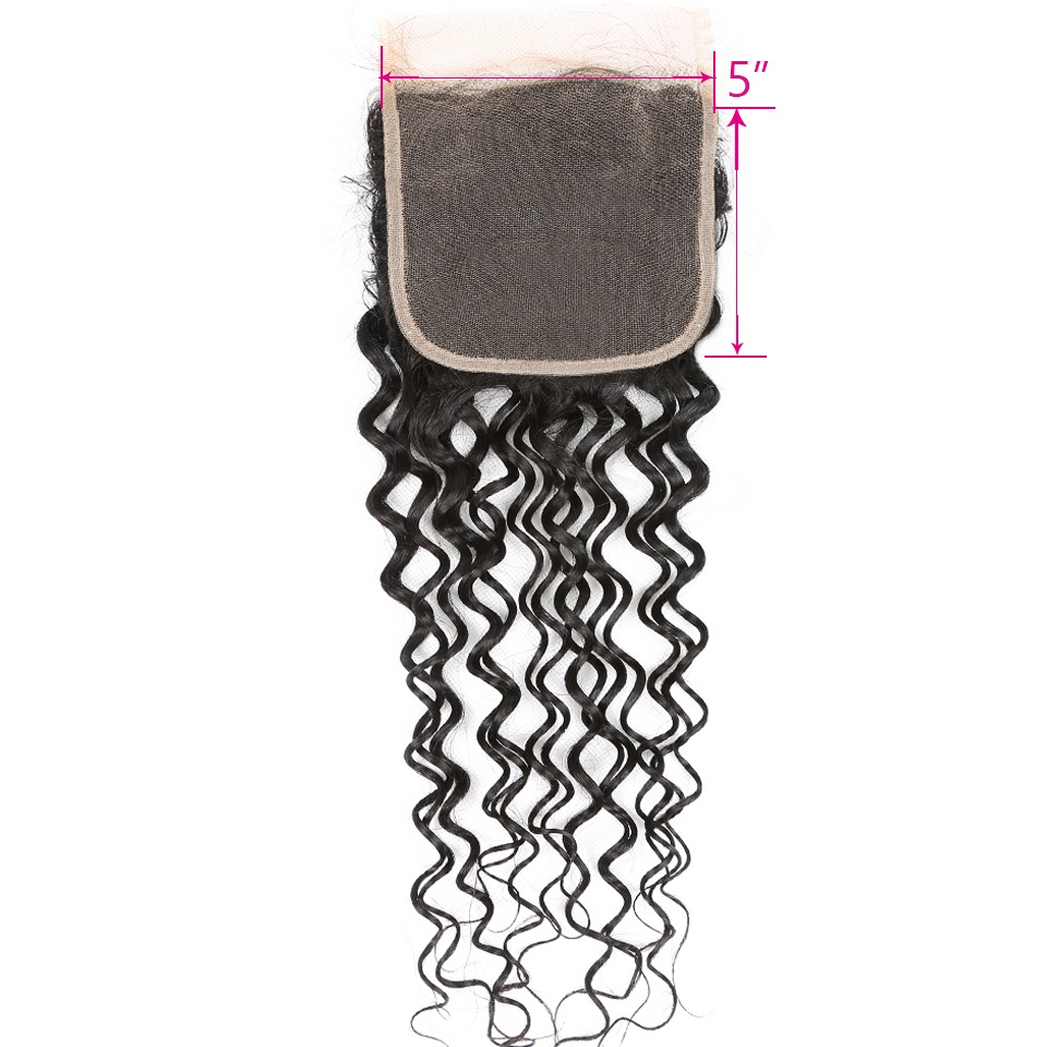 5-5 lace closure ww