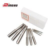 3Pcs M3 Om M20 Machine Schroef Kranen Voor Hout Plastic Metaal Hss Staal Schroefdraad Metric Plug Kranen Pre medium Afwerking Drie Soorten