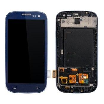 I9300 LCD Per SAMSUNG Galaxy S3 i9300i Display Dello Schermo con Cornice di Ricambio Per SAMSUNG Galaxy S3 LCD i9305 i9308i i9300i