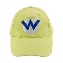 Ainme super Mario Yellow Бейсбольная кепка Topi SuperMario Mario Bros. Рыбалка Рыбалка Cap Cosplay Hat Factory Direct