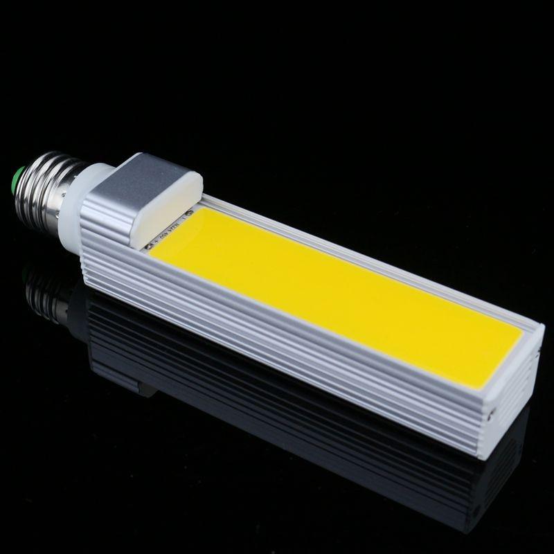 COB LED lampada Horizontal Plug LP Lamp 13W E27 G23 G24 LED Corn Bulb Light COB Bulb Spotlight 85-265V Commercial lighting
