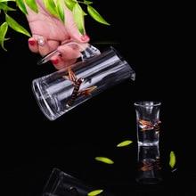 Эмаль Набор бокалов для вина Китайский Малый ликер пивная кружка графин вина набор чашки Бар Инструмент Drinkware 1 горшок 6 чашек