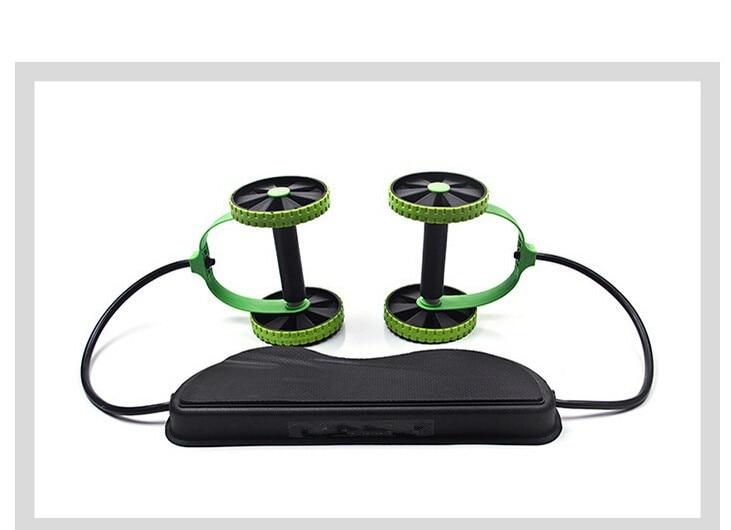 HTB1NBxhLXXXXXXaXpXXq6xXFXXXS - AB Wheels Roller Stretch Elastic Abdominal Resistance Pull Rope Tool AB roller for Abdominal muscle trainer exercise