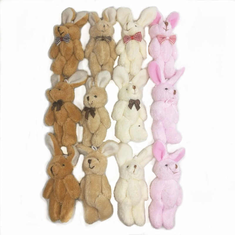 8 см, с бантом платье-пачка милый плюшевый кролик куклы, чучела животных плюшевый кролик украшение букетов кукла