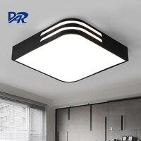 New Design Modern Led Ceiling Light Black White Iron Body Acrylic Shade Led Ceiling Lamp For
