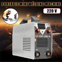 15 En 1 Mini DC Arc Máquina De Soldadura Eléctrica Soldador Soldadura con Núcleo de Cobre Inversor 220 V 50/60Hz para la Soldadura de Acero de Trabajo