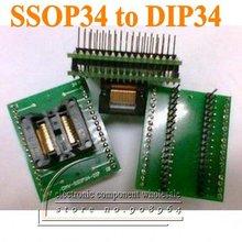 2 шт./лот SSOP34 к DIP34 программист IC адаптер разъем печатной платы