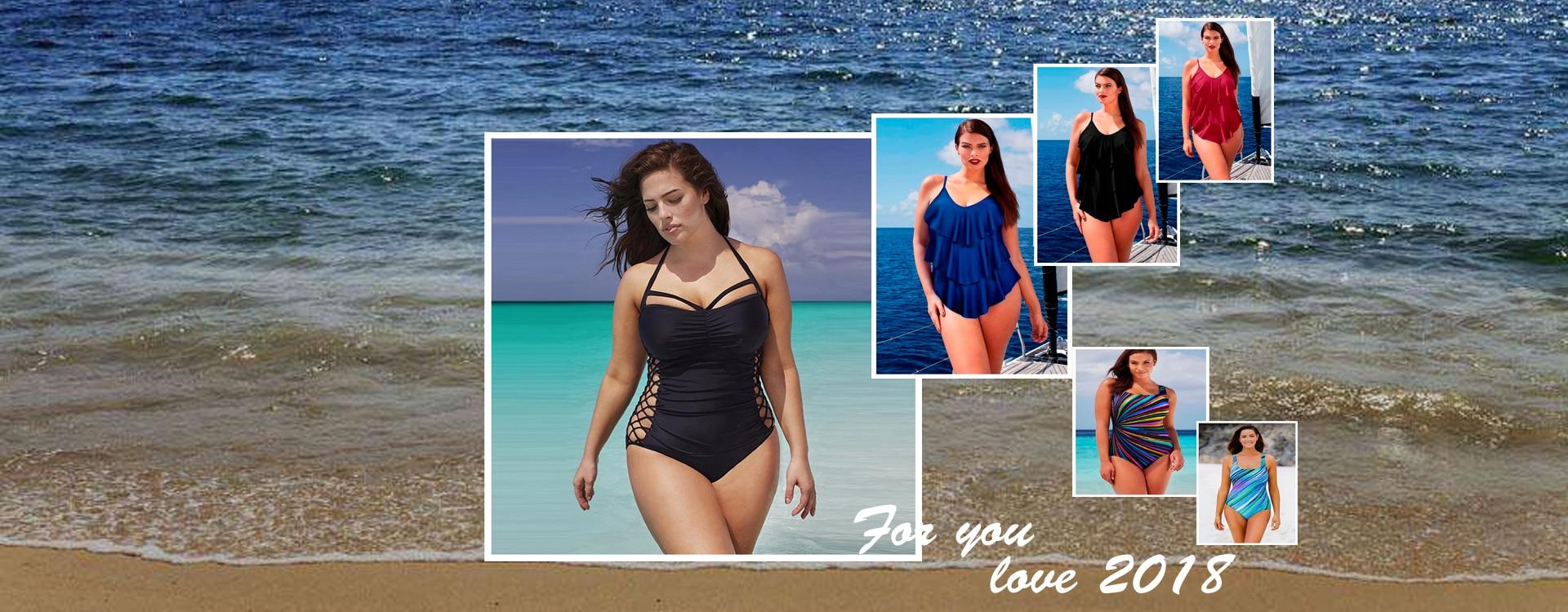 68b5ce86db 5XL Large Big Plus Size Swimwear For Women Sexy One Piece Swimsuit 2018  Slimming Female Print Retro Beach Bathing Suit Bodysuit