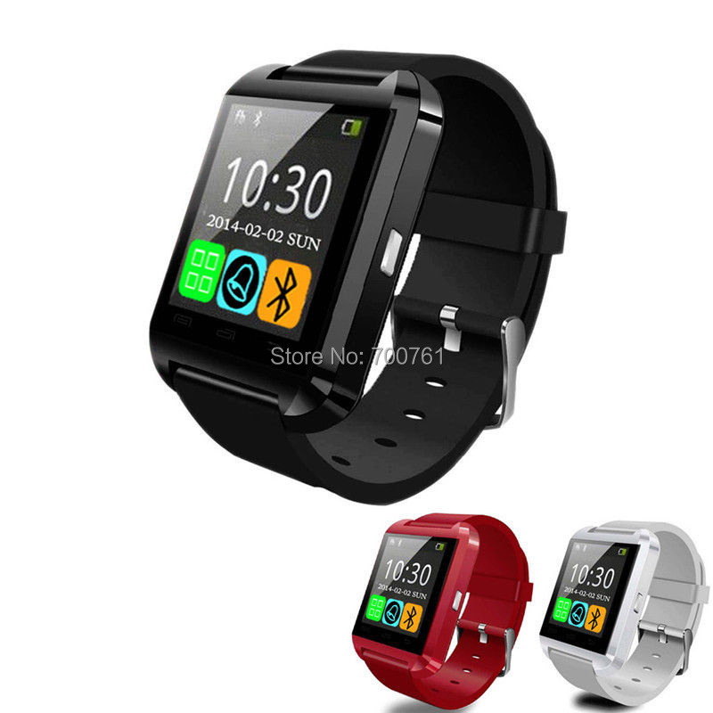 20PCS Bluetooth Touch Screen Smart Watch MTK Waterproof Sport WristWatch U watch for iPhone 6 5S 4S Samsung HTC LG Android phone