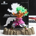 Dragon Ball Z Figura 1/8 Brolly Super Saiyan Broly Action Figure Boneca de Brinquedo PVC Anime 17 CM