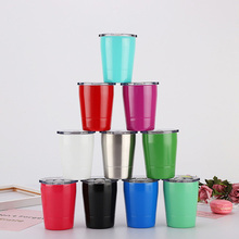 304 stainless steel insulation cup Double wall vacuum coffee mug 260ml Childrens Milk tumbler