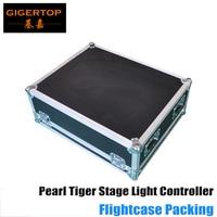Китайский производитель Pearl Тигр Освещение консоли Roadcase Pack 3 Pin XLR светодиодный светильник светодиодный Экран Дисплей 4 DMX512 Out разъем