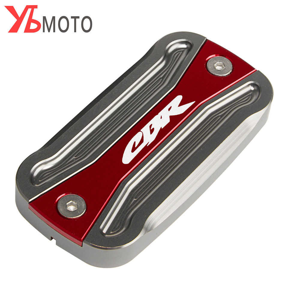 Motorclcye Accessories Brake Fluid Reservoir Cover Cap For <font><b>Honda</b></font> <font><b>CBR</b></font> <font><b>600F</b></font> F2 F3 F4i CBR600RR <font><b>CBR</b></font> 600 929 954 1000 RR image