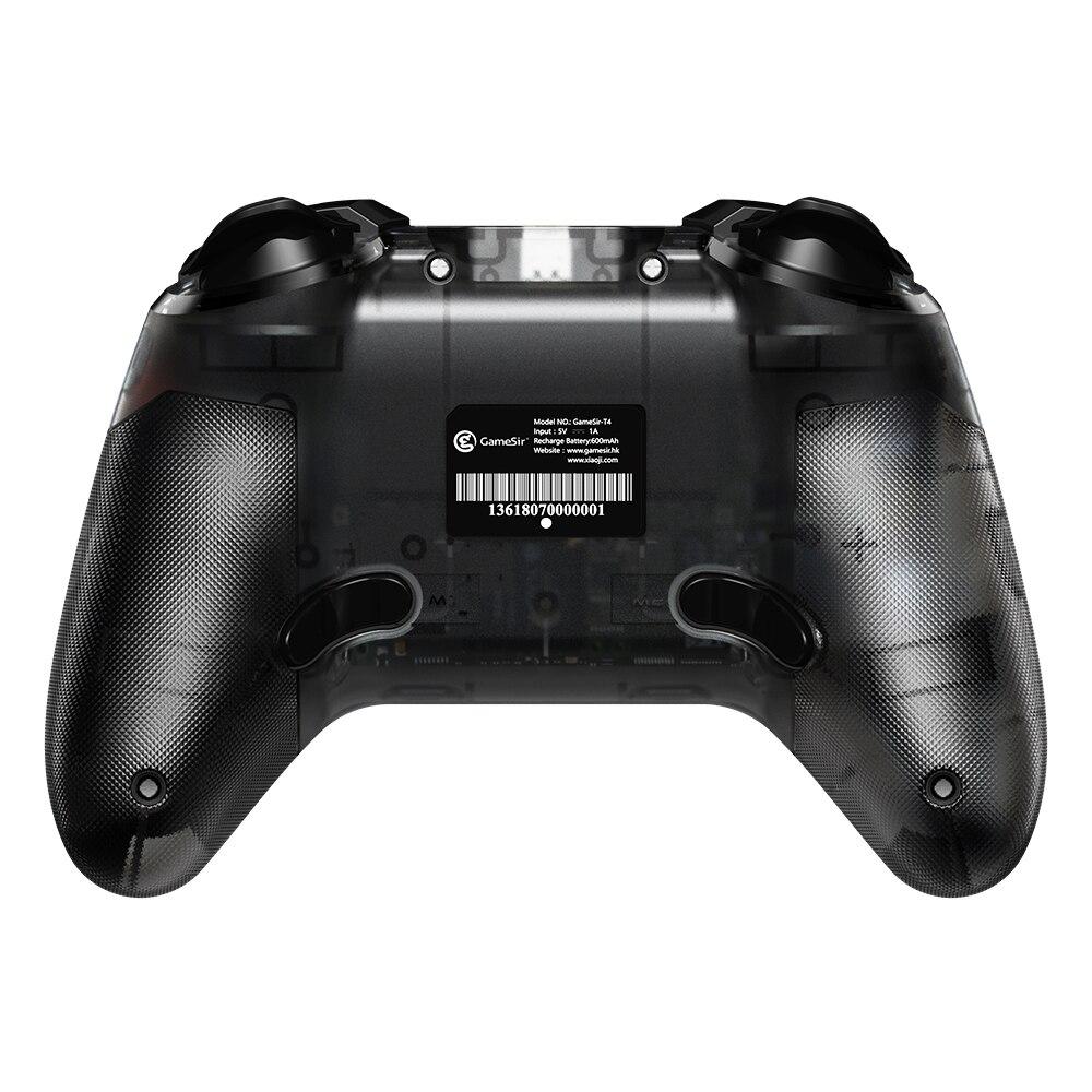 GameSir T4 2,4 GHz (receptor USB) de juego inalámbrico controlador cable USB Gamepad para Windows (/7/8/9/10) PC - 2