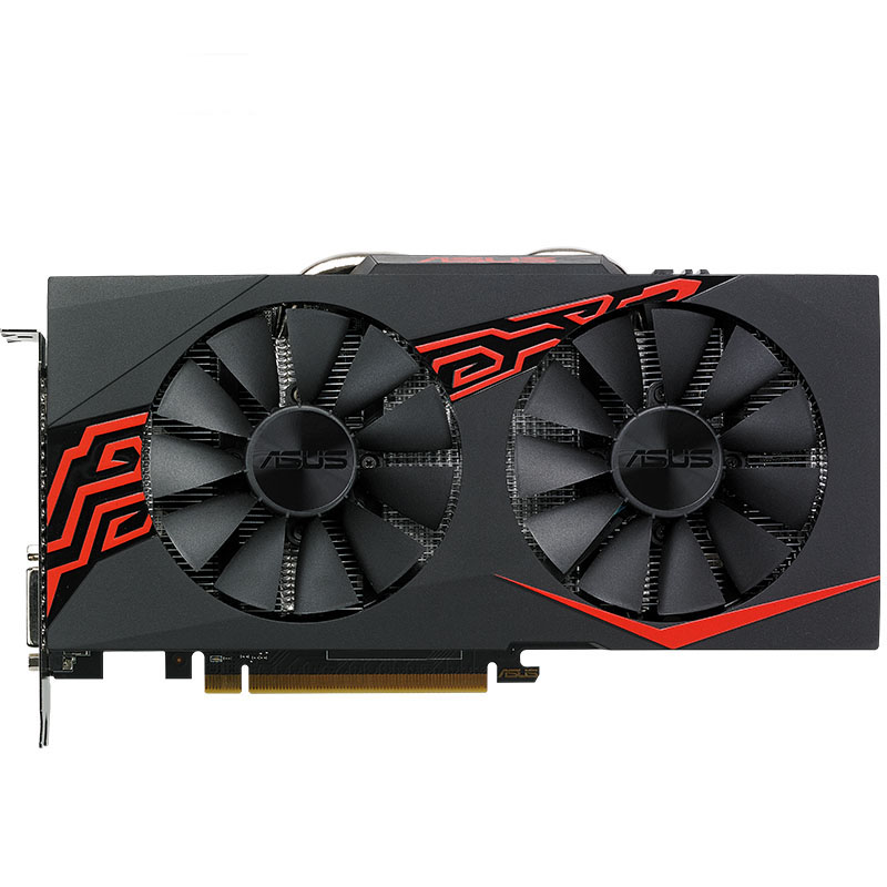 New Asus EX-RX580 2048SP-4G Graphics Cards 1168MHz 256Bit 4G GDDR5 PCI Express 3.0 16X 7000MHz Radeon RX580