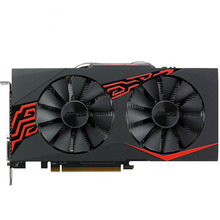 Neue Asus EX-RX580 2048 SP-4G Grafiken Karten 1168 MHz 256Bit 4G GDDR5 PCI Express 3,0 16X7000 MHz Radeon RX580