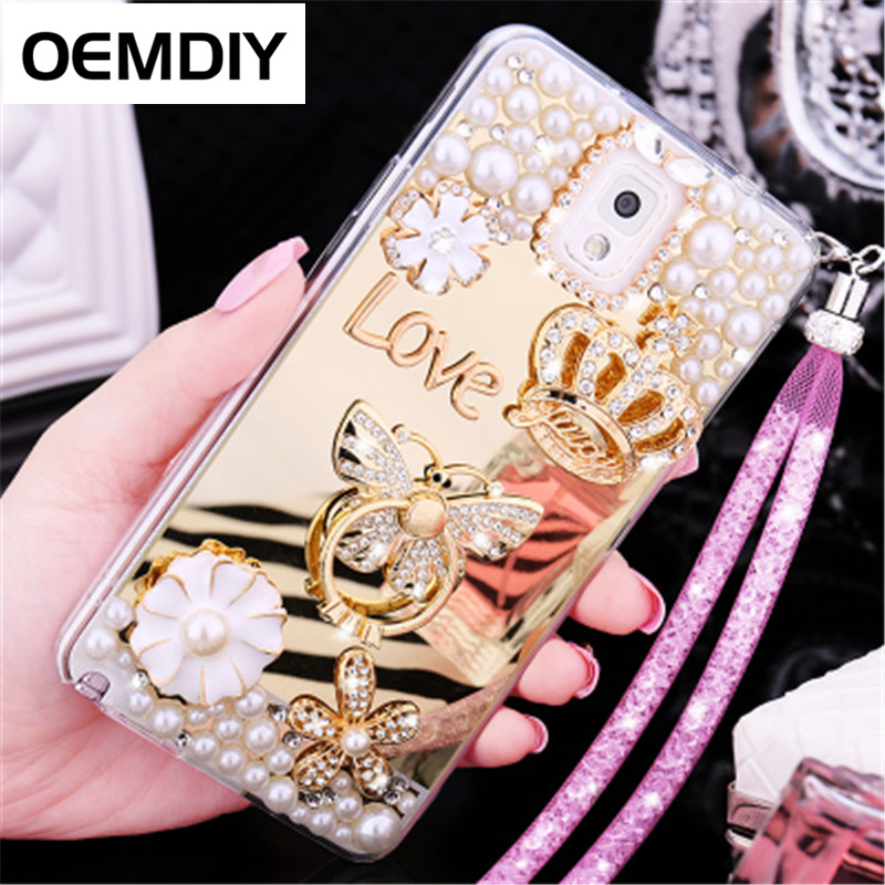 OEMDIY Luxury TPU Case Cover For Samsung Galaxy Note8 Note5 Note4 Note3 S8 S7 S6 edge Plus S5 S4 S3 J5 J7 2017 Prime Soft Cases
