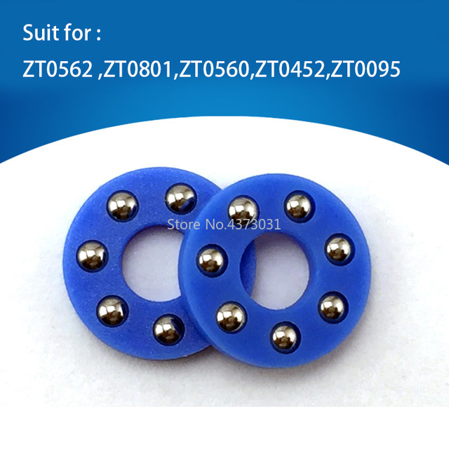2 Pieces Zt Knife Bearing Washer DIY Tools Detent Ball Plate Fastening Rivet Bearing Ball