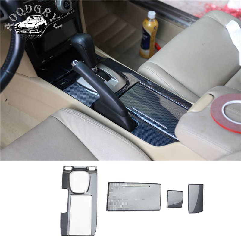 Фото Автомобильный Стайлинг ABS углеродного волокна Текстура Подходит для Honda Accord 2008 2012