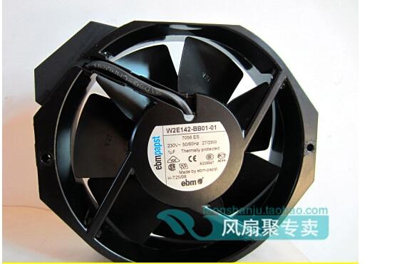 The original German ebmpapst W2E142-BB01-01 7056ES 230V 172*150*38MM metal high temperature fan original ebmpapst17238 230v w2e142 bb01 01 cooling fan