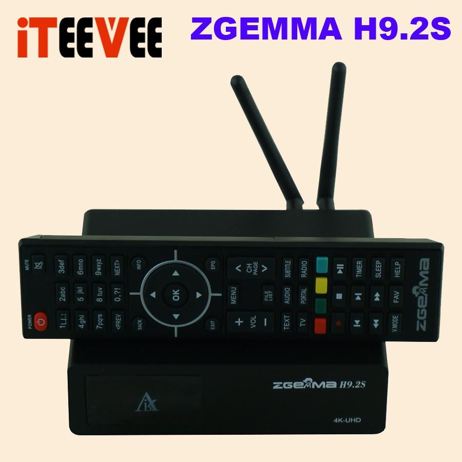 2018 NEW Version ZGEMMA H9 2S Linux OS Enigma2 Digital 4K UHD Satellite Receiver DVB S2X