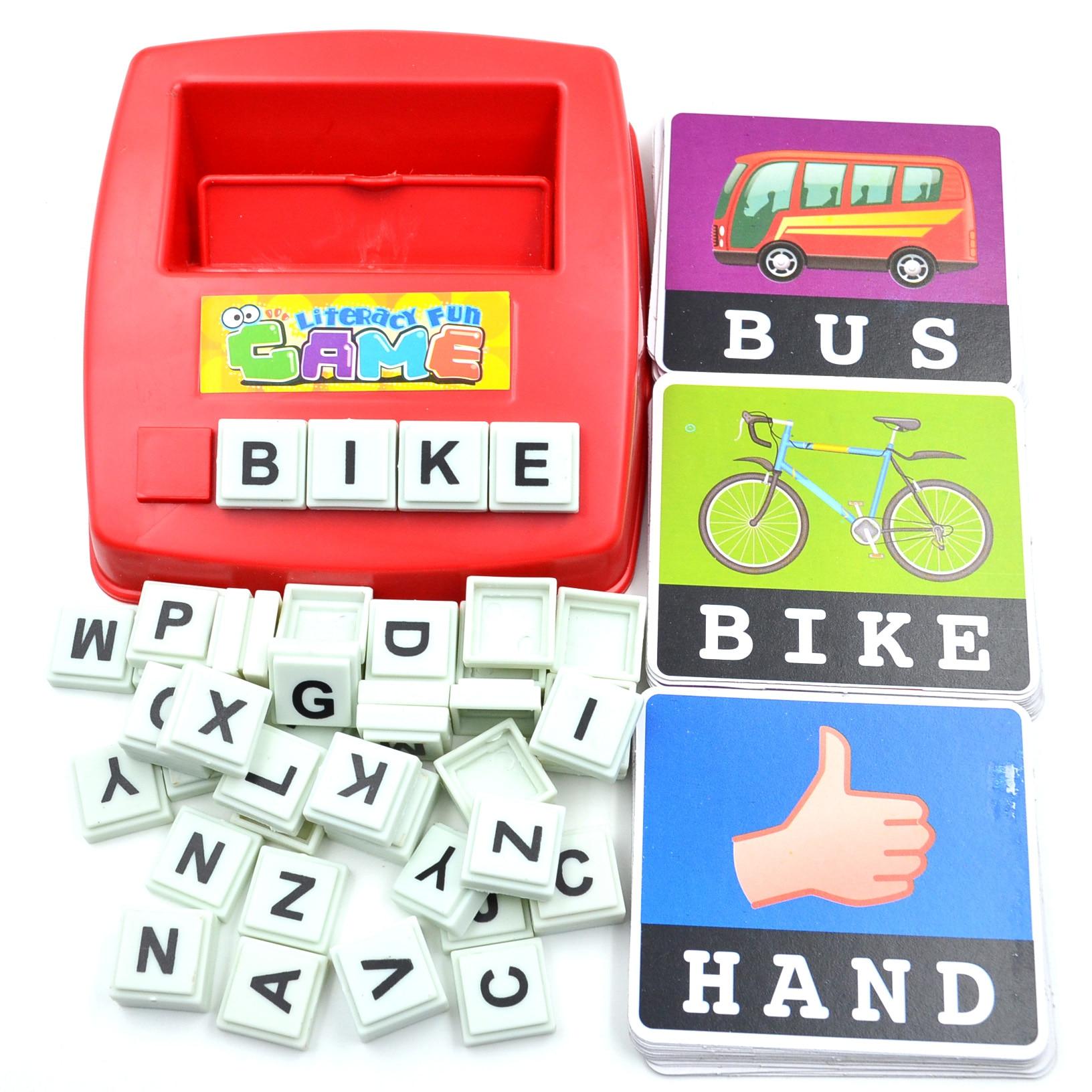 Detail Umpan Balik Pertanyaan tentang Bohs Huruf Alfabet Kartu Literasi Menyenangkan Permainan Belajar Amerika Serikat Bahasa ABC Anak Mainan Pendidikan