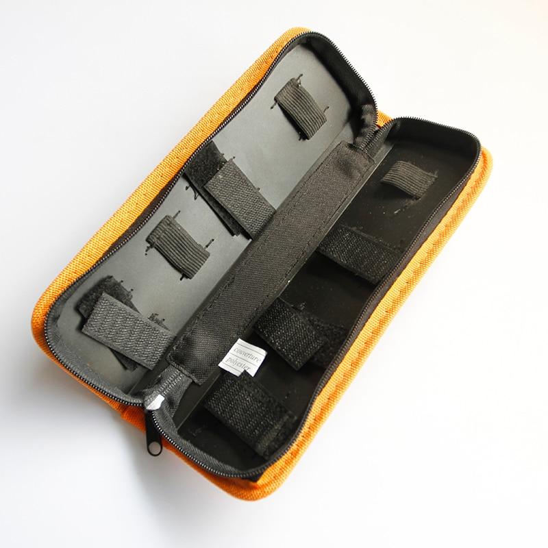 Hot Selling Oxford Cloth Hard Board Tool Storage Bag Portable Zipper Sleeve Tool Storage Bag Electrical Tool Kit