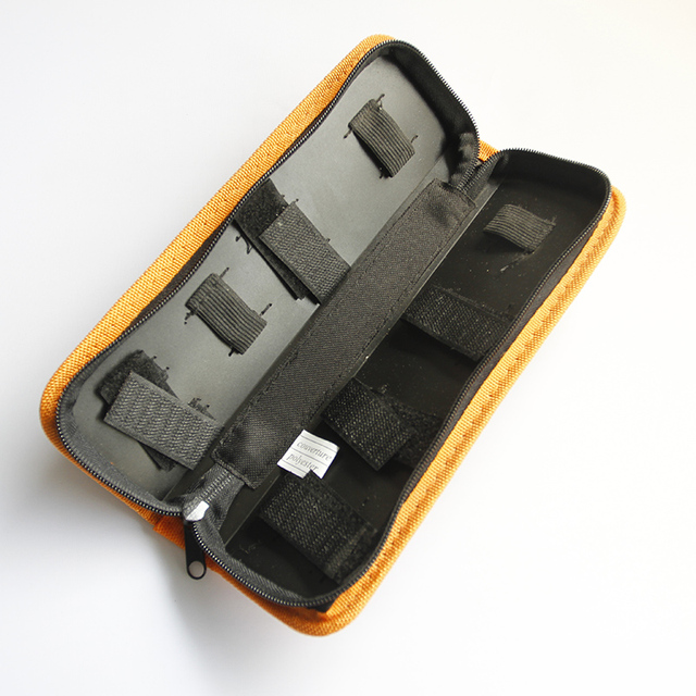 Hot Selling Oxford Cloth Hard Board Tool Storage Bag Portable Zipper Sleeve Tool Storage Bag Electrical Tool Kit