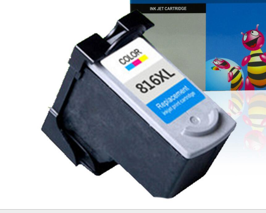 for Canon PG815 CL816 Ink Cartridge with IP2780 IP2788 MP259 236 280 288 mx368 Printer Cartridge can be refilled with XL to Increase Capacity-Color GYBN Large-Capacity Ink Cartridge for Printer