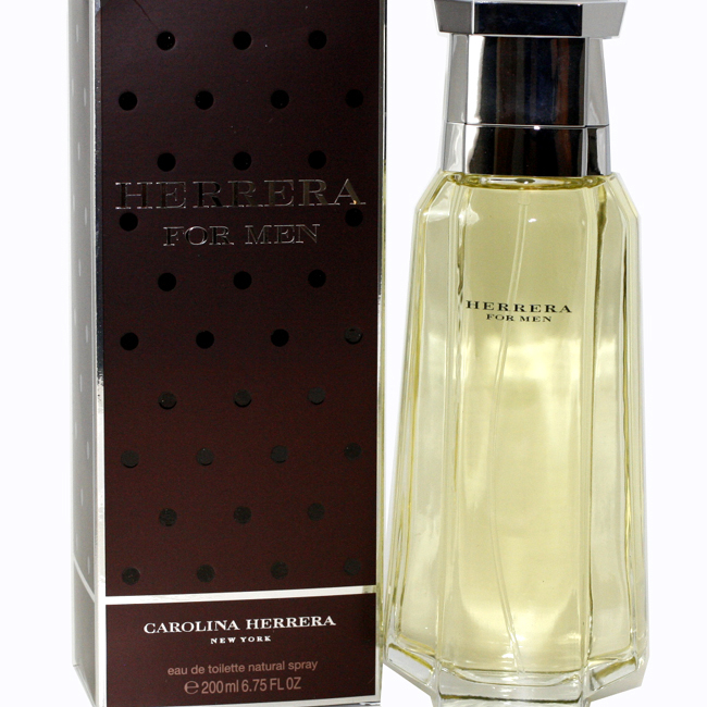 HERRERA by Carolina Herrera for Men EAU DE TOILETTE SPRAY 6.75 oz / 200 ml bosch smv30d20ru