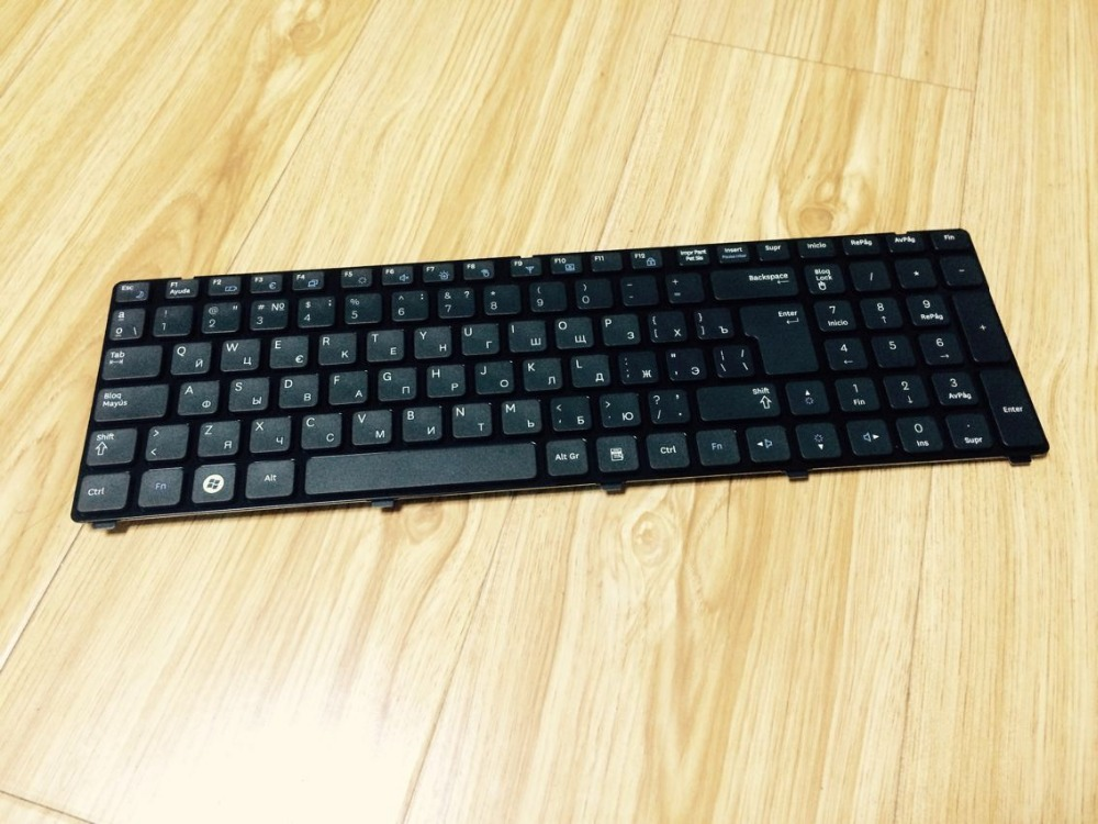 New Laptop keyboard for Samsung NP R780 R790 R770 R750  Russian\ RU layout new laptop keyboard for samsung 300e5a 305e5a np300e5a np300e5c ru russian layout