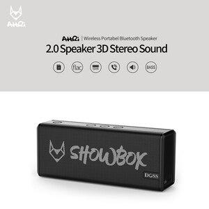 Image 2 - DOSS SHOWBOX سمّاعات بلوتوث نظام الصوت المحمولة اللاسلكية مكبر الصوت 360 ° صوت ستيريو مع باس/المدمج في ميكروفون دعم BT TF